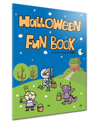 Halloween Fun Book